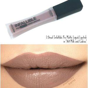 L'Oréal infallible lipstick!